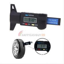 0-25mm LCD Digital Depth Gauge Tyre Tread Brake Electronic Micrometer Measure UK
