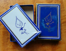 Vintage IL Nicor Gas Utility blue PENNY FLAME Mascot Playing Cards Sealed w Box