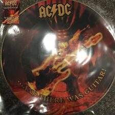AC/DC - ...AND THERE WAS GUITAR ! - NEW LIMITED EDITION PICTURE DISC LP VINYL
