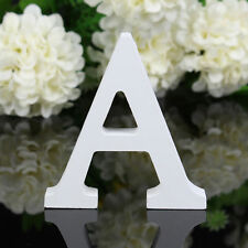 Wooden Letters A Alphabet Brithday Party Favour Cake Decor Wall Hanging Ornament