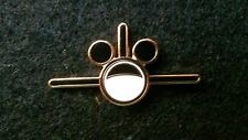 DISNEYLAND CAST MEMBER WDTC EARFORCE ONE MICKEY EARS PLANE PIN, BLACK WINGS
