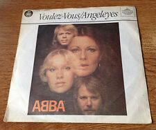 "ABBA  Voulez-Vous  Angeleyes 45 single 7"" unique Yugoslavia issue RTB label"