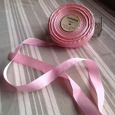 French Pink Grosgrain Tape Vintage Ribbon & Roll Ballet Dolls 10m/ Last in Stock