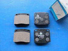 Plaquettes de freins avant Permafuse pour Nissan Bluebird (610), Sunny B310