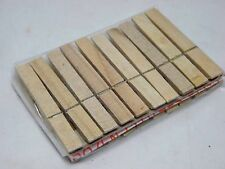 10 PCS. WOODEN CLOTHESPINS WOOD CLOTHES PINS SPRING CLAMPS