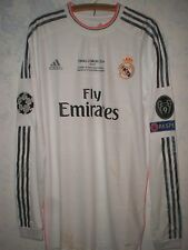 REAL MADRID-OFFICIAL SHIRT-MAGLIA UFFICIALE ORIGINALE-SIGNED BY RONALDO FINAL CL
