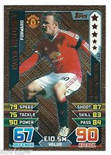 2015 / 2016 EPL Match Attax Bronze Limited Edition (LE2) Wayne ROONEY Man U