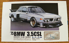 Arii 1975 BMW 3.5CSL Owners Club Series model kit 1/24