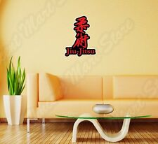 "Jiu-Jitsu Jiu Jitsu Martial Arts Sport  Wall Sticker Room Interior Decor 18""X25"""