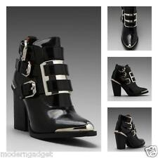 SUPER COOL!!! JEFFREY CAMPBELL  Hyatt  WOMEN ANKLE BOOTS/BOOTIES SIZE 6