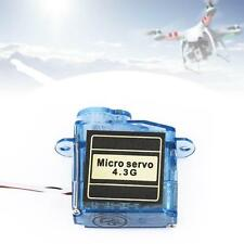 1x Micro 4.3g Mini Servo for Control Aeromodelling aircrafts flight direction F