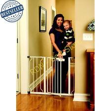 Gate Regalo Easy Step Walk Thru White Baby Safety Pet Child Toddler Extra Tall