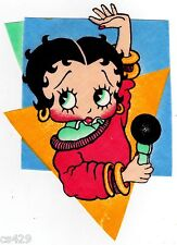 "6.5"" BETTY BOOP WALL SAFE STICKER CHARACTER BORDER CUT"