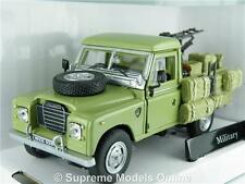LAND ROVER MILITARY CAR 1/43RD SIZE MODEL PICK UP LWB GREEN VERSION R0154X{:}