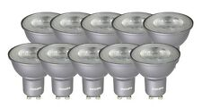 10 x Philips MASTER LEDspotMV Value D 4.3-50W GU10 40D 3000K dimmbar wie 50W A++