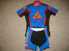 Sugoi Team Sheeper Cycling Suit Shorts & Jersey Bike S Bicycle Cycle Running Sm
