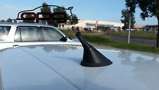 ANTENNA AERIAL STUBBY BEE STING VOLKSWAGEN VW MK4 MK5 R32 GOLF 3.5CM BLK CARBON