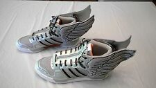 Adidas x Jeremy Scott Wings 2.0 Shoes US Size 13 New No Box Silver Metallic