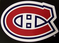 Window Bumper Sticker NHL Hockey Montreal Canadiens NEW