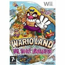 Wario land: shake it (Nintendo Wii, 2008)