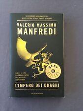 L'IMPERO DEI DRAGHI - VALERIO MASSIMO MANFREDI il maestro del romanzo storico