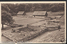 Gloucestershire Postcard - Chedworth Roman Villa, General View   RS1443
