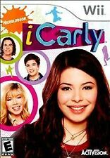 Nintendo Wii Game Disc ICARLY