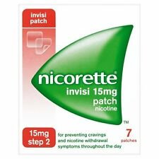 NICORETTE INVISI 15MG PATCH STEP 2 - 7 PATCHES