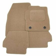 SKODA SUPERB 2008 ONWARDS TAILORED BEIGE CAR MATS