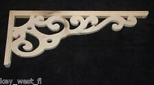 "Victorian Wood Gingerbread { 23"" x 9"" } Porch & House Trim Bracket #38 ~ by PLD"