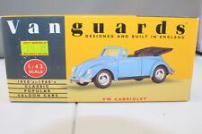 Vanguards VA2001 VW Cabriolet  Hood Down  Pale Blue   Boxed