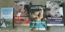 Lot of 4 Books by Jennifer Probst - The Marriage to a Billionaire Series