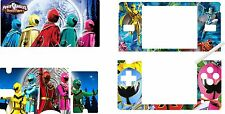 nintendo DS Lite - POWER RANGERS - 4 Piece Decal / Sticker Skin vinyl