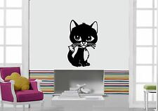 Wall Stickers Vinyl Decal Pet Cat Cute Funny Animal ig1670