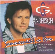 G.G. ANDERSON - SOMMERNACHT IN ROM / CD (BMG ARIOLA 74321185572) - TOP-ZUSTAND