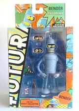 "FUTURAMA SERIES 3 BENDER  6""INCH"" TOYNAMi NEW!!I 2008 ACTION FIGURE ((RARE))"