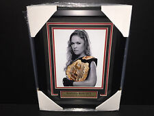 RONDA ROUSEY UFC CHAMPION THE BADDEST WOMEN ON THE PLANET FRAMED 8X10 PHOTO