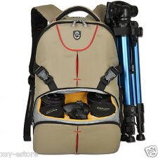 Multifunctional Deluxe Camera Backpack Bag Case for Sony Canon Nikon DSLR SLR