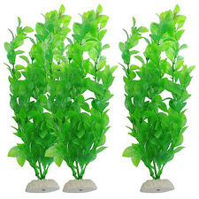 1Pcs Natural Aquatic Artificial Fish Tank Plant Aquarium  Decor Water Grass