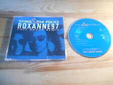 CD Pop Sting - Roxanne 97 Puff Daddy Remix (4 Song) MCD A&M REC Police