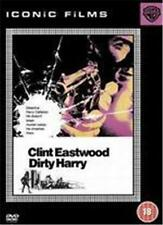 DIRTY HARRY Clint Eastwood*John Vernon*Don Siegel Classic Cop Thriller DVD *EXC*