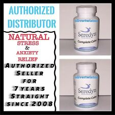 SEREDYN RELIEVES STRESS, PANIC ATTACKS AND ANXIETY 2 BOTTLES
