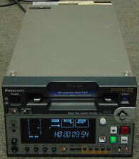 Panasonic AJ-SD93 DVCPRO50 Digital Recorder With SDI Low Hours