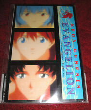 Neo Genesis Evangelion Post Card Set x25 New Sealed Never Used RARE! Rei Asuka
