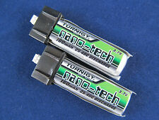 2 New Turnigy Nano-Tech 160mah 25C Lipo Batteries e-flite blade MCX MCX2 MSR US