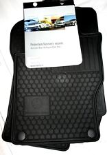 2010 TO 2012 Mercedes GL350 Rubber Floor Mats - GENUINE FACTORY OEM ITEMS- BLACK