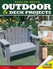 Easy-to-Build Outdoor & Deck Projects-ExLibrary