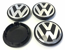 x4 Alloy Wheel Rim Center Hub Caps 76mm VOLKSWAGEN VW TOUAREG TRANSPORTER T5 SET