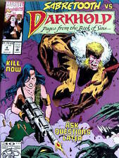 Darkhold : Pages from The book of SINS n°4 1992 ed. Marvel Comics   [G.219]