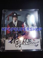 Lee Joon Gi Shin Min Ah Autographed Signed Arang and the Magistrate OST Jun Ki